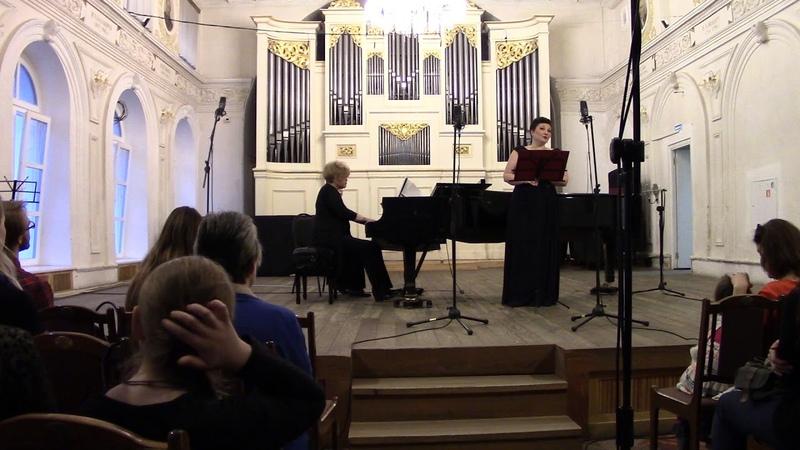 Brahms - Vier ernste Gesänge, op.121 - Anna Litvin (mezzo-soprano)