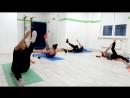 Тренировка ПрессЯгодицы. Студия танца Paradox. Санкт-Петербург.