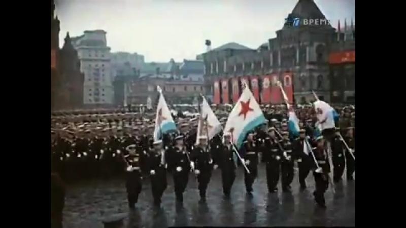 24 июня 1945 года на Красной площади столицы СССР города Москвы прошел парад Победы. - Вчера слушала воспоминание участника пара