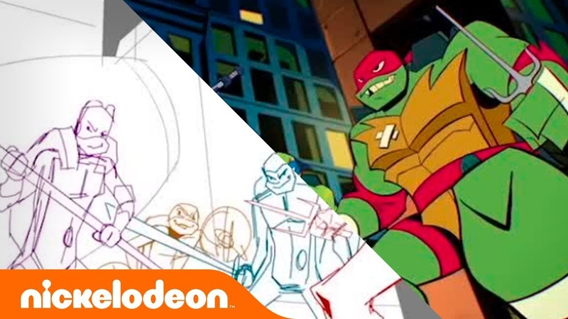 Making of RISE of the TMNT!! EXCLUSIVE Look 👀 | From Sketch to Screen | TurtlesTuesday