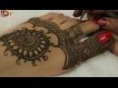 Easy Beautiful Traditional Heena Mehandi Design For Feet:Learn Wedding Mehendi By MehndiArtistica