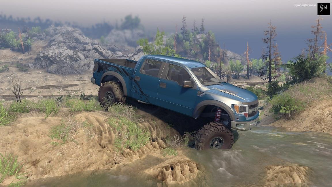 Ford Raptor SVT для Spintires - Скриншот 3