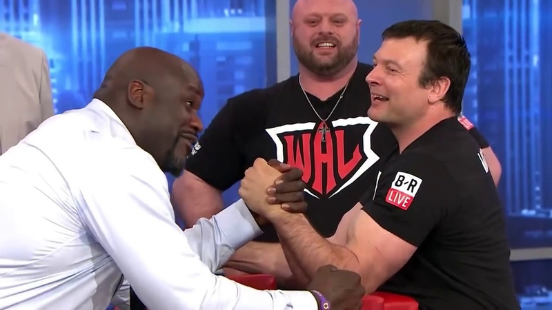 EJ's Neat-O Stat Of The Night: Arm Wrestling