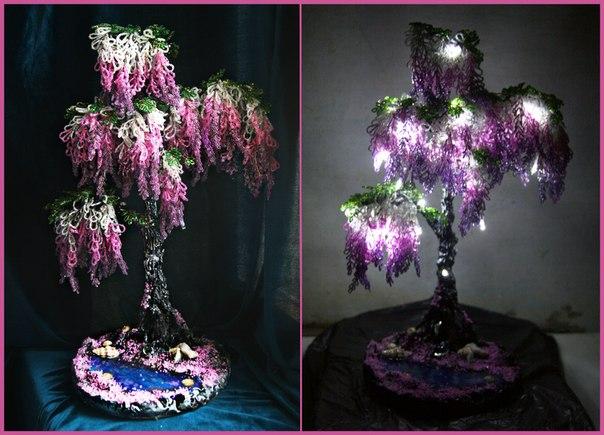 Дерево светильник своими руками