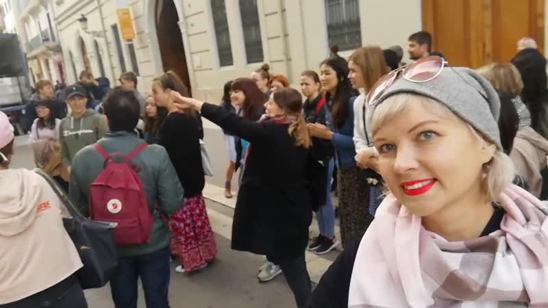 Урок испанского в городе ...или как мы учимся в школе Hispania Escuela