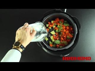 Рецепты от Redmond: Овощной крем-суп (Мультиварка RMC-M4504)