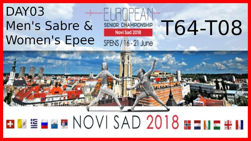 European Championships 2018 Novi Sad Day03 Main Feed With Commentary