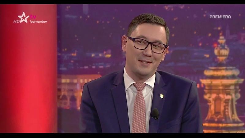 Hradní mluvčí J.Ovčáček host ve Zprávách J. Soukupa