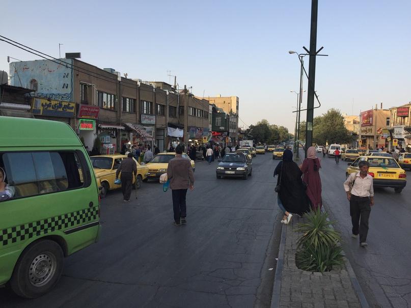 Иран4. Улицы Хамедана