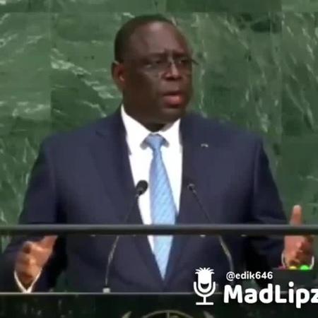 Речь в ООН)