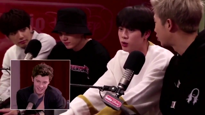 [VIDEO] Shawn Mendes about BTS om the Radio Disney