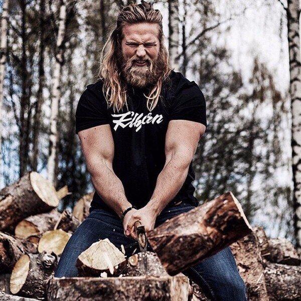 Ласс Матберг — настоящий современный викинг