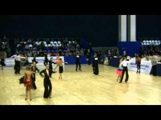 Бальные танцы Первенство Москвы 10dance Юниоры-2(1)