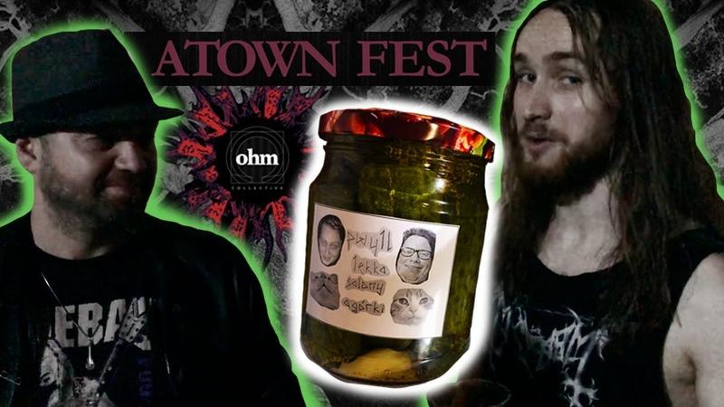 На Atown Fest с Антоном Хмелевским: ohm collective, огурцы как мерч, Outown Fest и Pressor