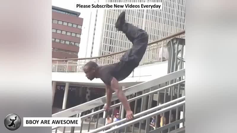 Bboy Junior Superman Strength Combos