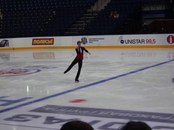 Minsk-Arena Ice Star 2017 Moris Kvitelashvili SP