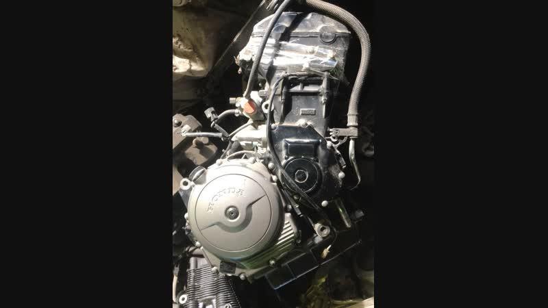 Проверка контрактного двигателя Honda CBR1100XX SC42E (инжектор) перед отправкой клиенту | motod.ru
