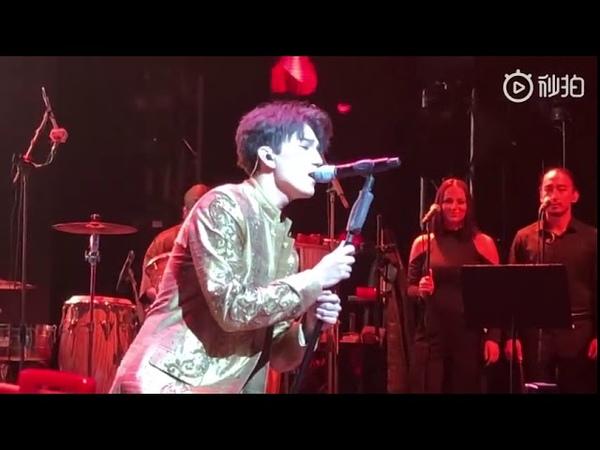迪玛希Dimash, London concert.《Unforgettable day难忘的一天》