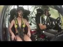Авто приколы с водителями и бабами за рулем Девушки в авто, зрелищные ДТП и другие авто приколы