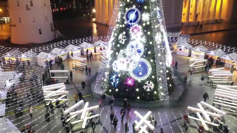 Вильнюс в ожидании Рождества и Нового года!