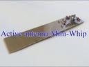 Антенна Mini Whip на диапазоне 3 5 МГц
