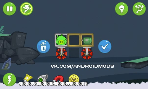 Скачать Bad Piggies HD для android