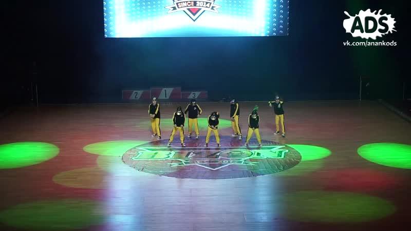 ANANKO DANCE SCHOOL_Bizon 2018_little gangsters
