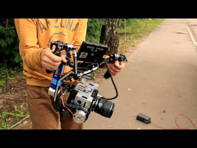 Rottor Arrny Brushless Gimbal with RED EPIC on board