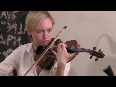 Ирина Писарева - Концерт для скрипки с оркестром И. Стравинского, 1 и 2 ч. @ Арт'Эрия 26.05.2018