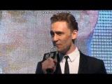 TOM HIDDLESTON SINGING MAN IN THE MIRROR
