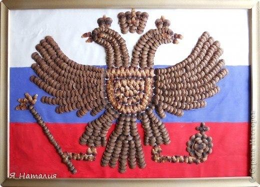 Поделка на символ россии 424