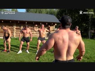 Олимпийская Деревня _ Всё смешалось КОНИ, ЛЮДИ, КАЧКИ, САМОЛЁТЫ