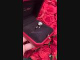 Новое золотое кольцо Cartier Пантера