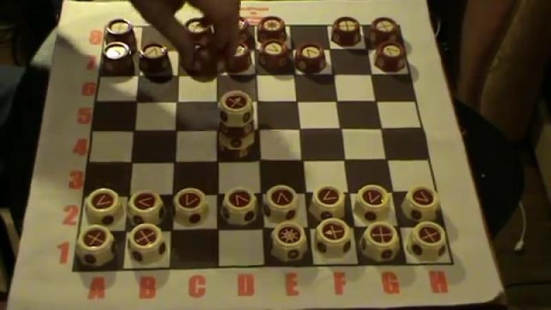 Научиться играть в таврели (русские шахматы) за 5 минут