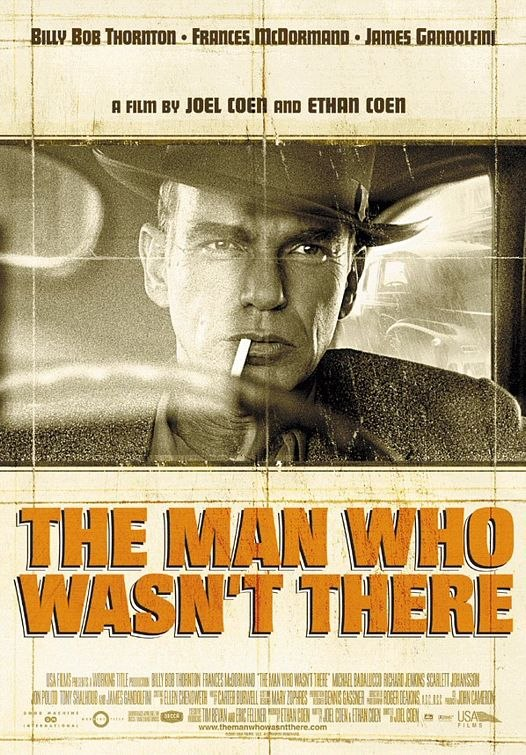 "19.05 в Синематеке ""The Man Who Wasn't There"""
