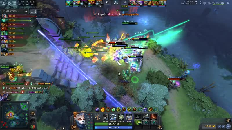 Miracle Meepo vs Counterpick Gorgc on Ember Spirit Can Miracle win 1vs5 EPIC