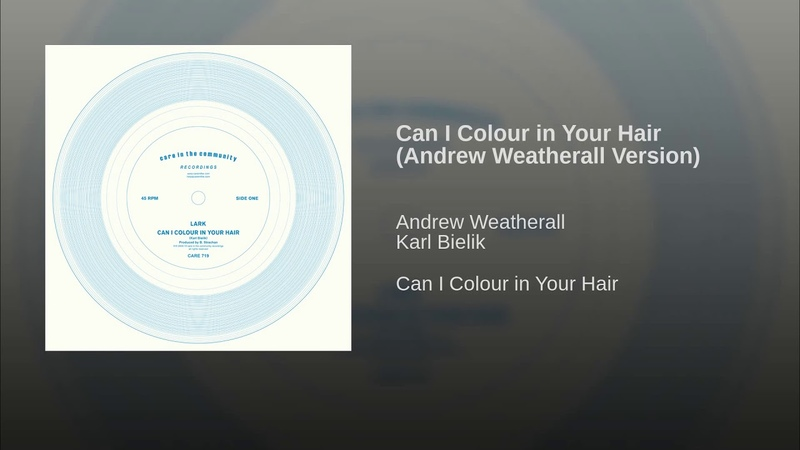 Lark - Can I Colour in Your Hair (Andrew Weatherall Version)