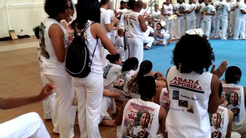 Abadá - capoeira 2018-Roda de encerramento evento Mestre Cobra no Colégio Cruzeiro part/02