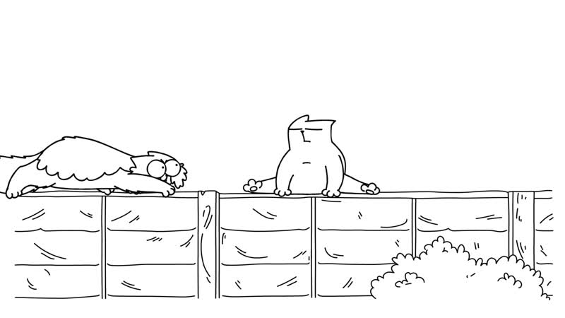 87. Simon's Cat – On The Fence (Jazz Trilogy! – 2