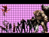 Size comparison of Resident evil characters and creatures