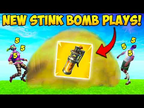 *NEW* STINK BOMB BEST PLAYS! - Fortnite Funny Fails and WTF Moments! 231 (Daily Moments)