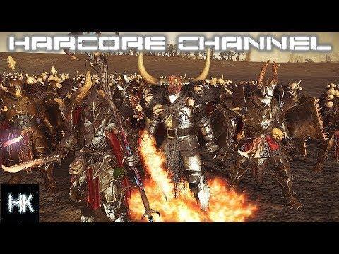 Total War Warhammer 2 Империи Смертных прохождение Hardcore Хаос =17= Массовое вторжение смотреть онлайн без регистрации