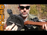 Massive Drum Mag on a Ruger 1022 reviewed by Deuce