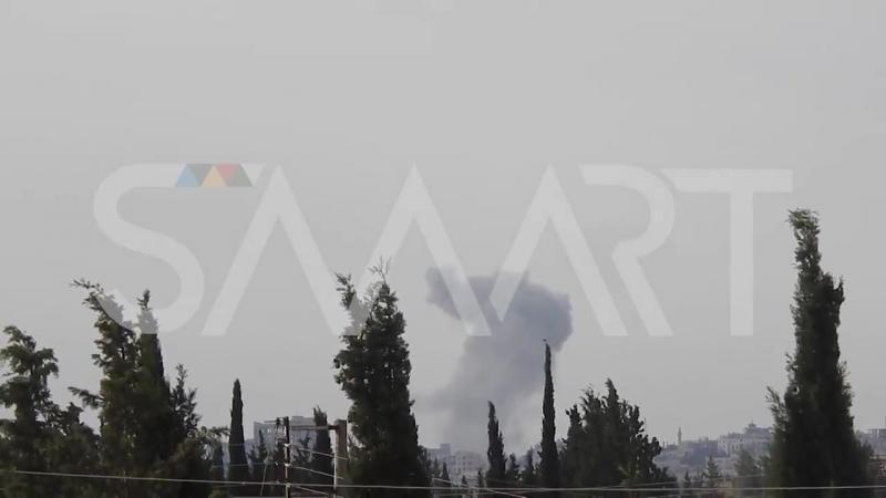 ВКС РФ возобновили удары в районе Layramoun север Aleppo