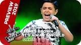 James Brown - It's A Man's Man's Man's World (Davit) PREVIEW The Voice Kids 2019 SAT.1