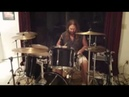 Drum solo at home...having fun.