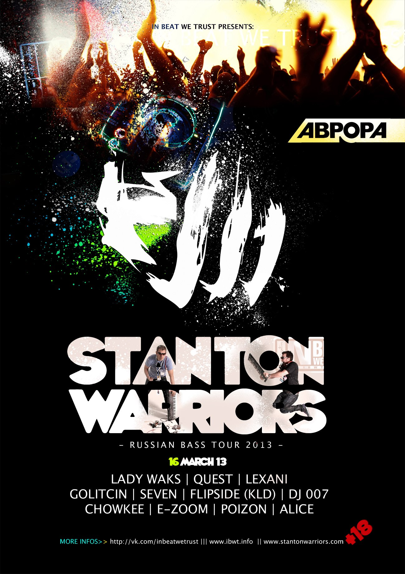 IBWT vs STANTON WARRIORS
