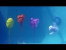 Воздействие подводного взрыва на воздух в шариках