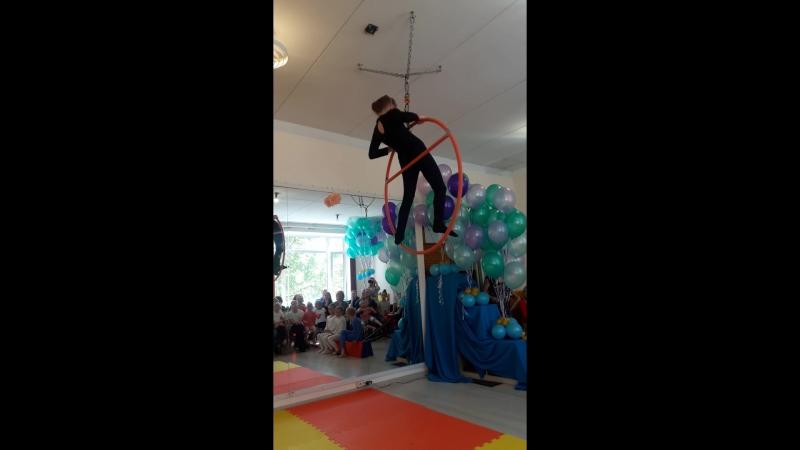 Моя воздушная гимнастка