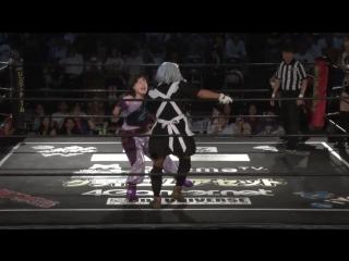 Emi Sakura, Mei Suruga, Riho vs. Martha, Sakisama, Yoshiko-sama (DDT - Fighting Beer Garden 2018 ~ Shuten-doji  HARASHIMA Day)